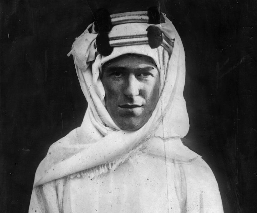 Thomas Edward Lawrence (1888 - 1935) conosciuto come Lawrence d'Arabia (Foto: Hulton Archive/Getty Images).
