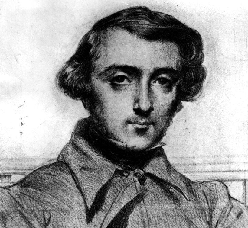 Ritratto di Alexis de Tocqueville, 1840 circa (Immagine: Hulton Archive/Getty Images).