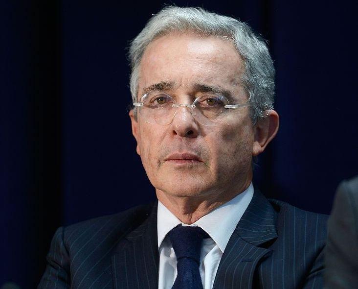 L'ex presidente colombiano Alvaro Uribe durante un summit a Miami, maggio 2016 (Foto: Leigh Vogel/Getty Images for Concordia).
