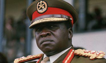 Il dittatore e capo di Stato Idi Amin