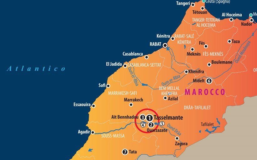 Cartina Politica Del Marocco.Il Marocco Solare Limes
