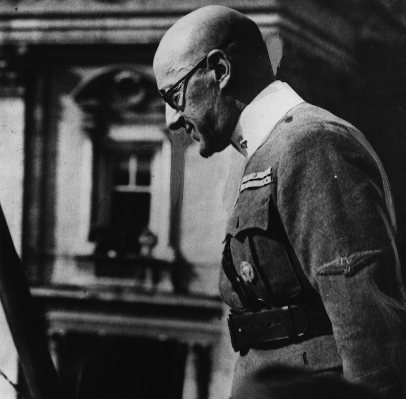 Gabriele d'Annunzio in uniforme, 1919-20 (Foto: Hulton Archive/Getty Images).