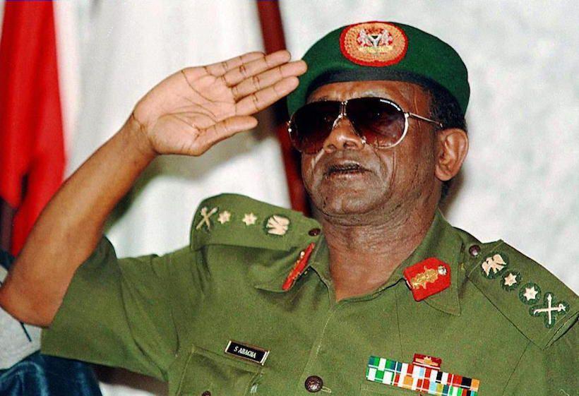 L'ex generale e dittatore nigeriano Sani Abacha, 1995  (Foto: ISSOUF SANOGO/AFP/Getty Images).