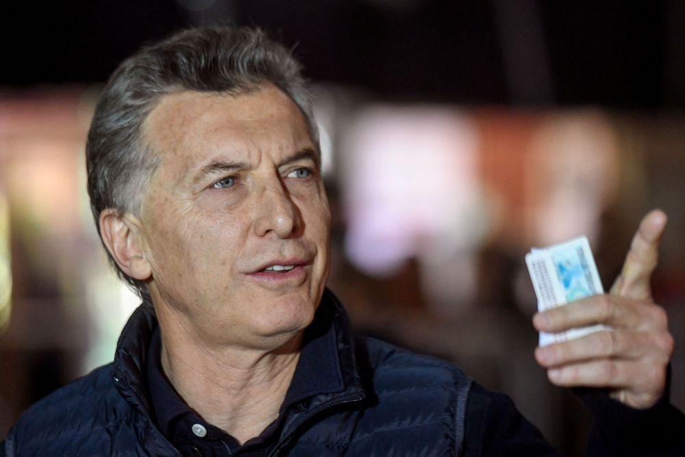 Il presidente argentino Mauricio Macri (Foto: EITAN ABRAMOVICH/AFP/Getty Images).