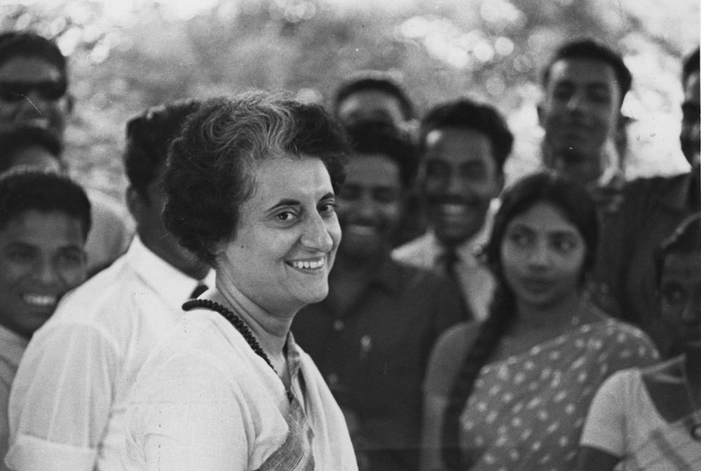 Indira Gandhi, primo ministro indiano dal 1980 al 1984 (Foto: Express Newspapers/Getty Images).