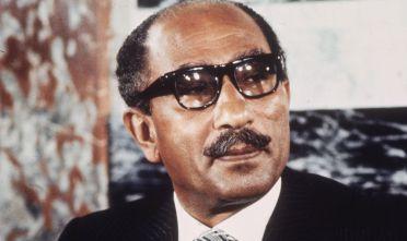Muḥammad Anwar al-Sādāt, presidente d'Egitto dal 1970 al giorno della sua morte (Foto: Hulton Archive/Getty Images).