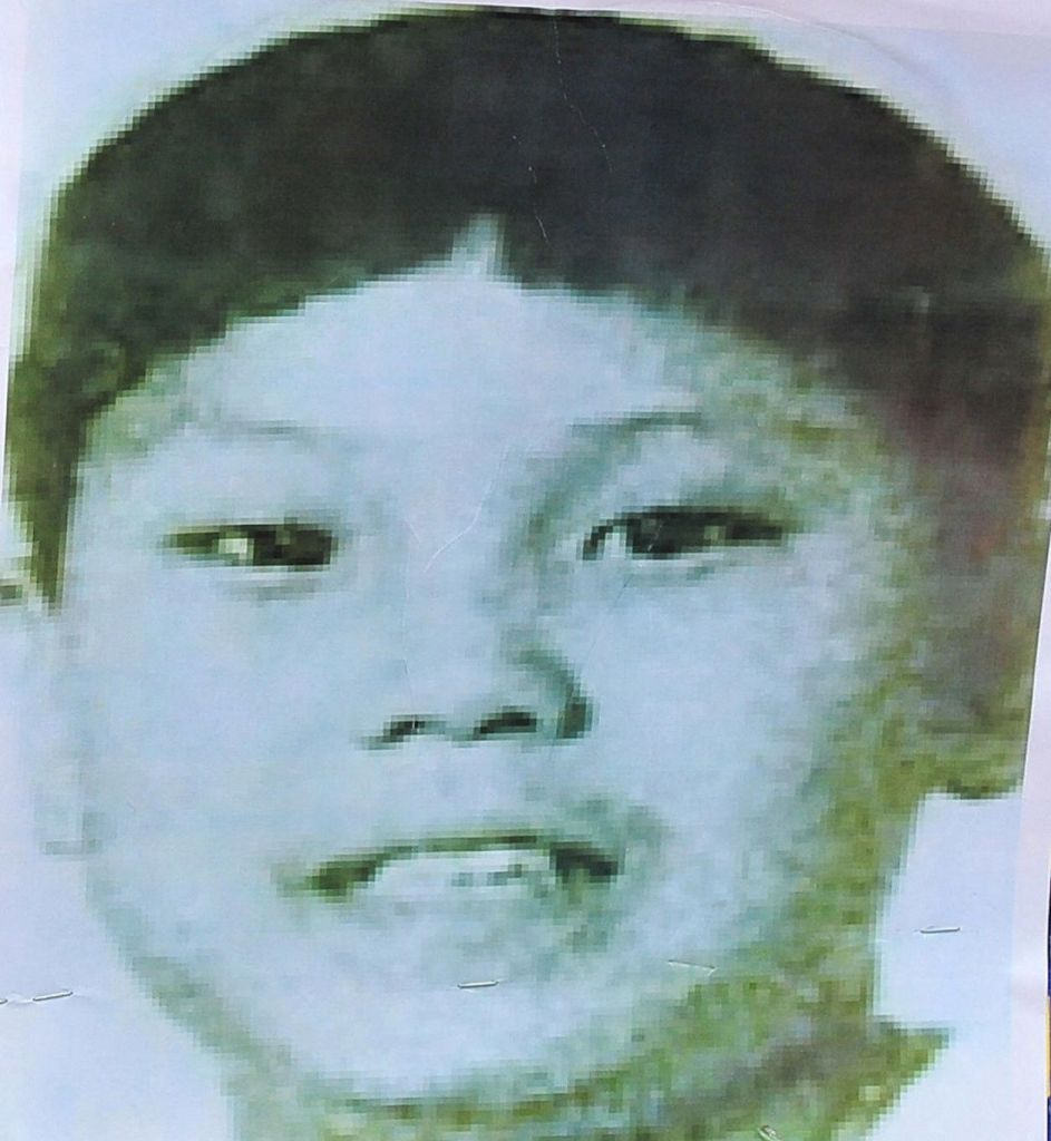 Presunta foto di Kim Jong-un da bambino. Foto di JUNG YEON-JE/AFP/Getty Images.