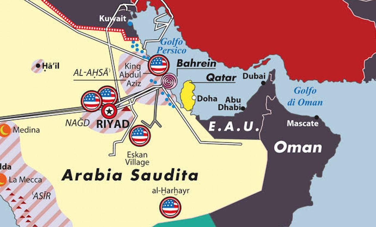 Dettaglio fragilità saudite