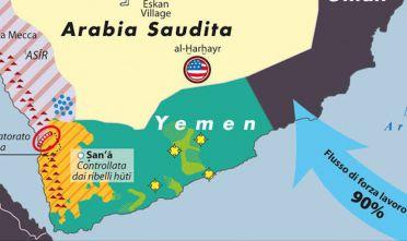Dettaglio fragilita saudite