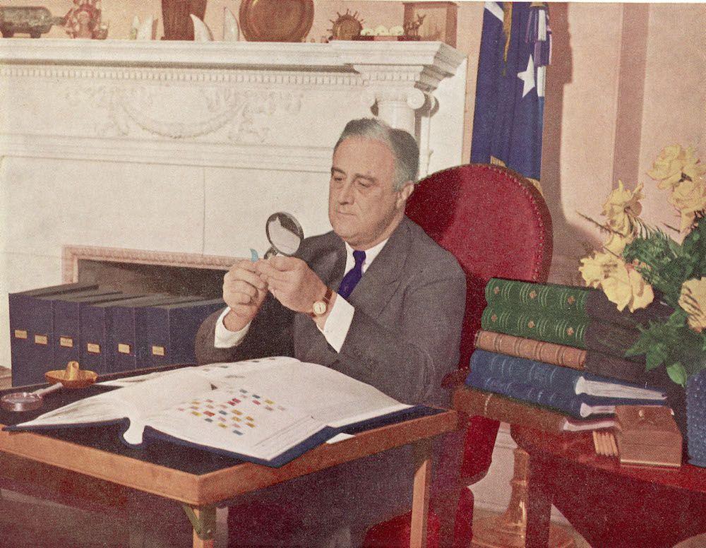Il presidente americano Franklin Delano Roosevelt (1882 - 1945), 1944 circa. (Foto: Hulton Archive/Getty Images).