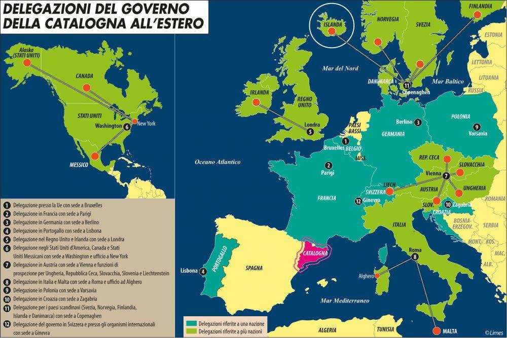 Cartina Politica Sardegna 2017.La Sardegna Puo Diventare Indipendente Anche Grazie Alla Catalogna Limes