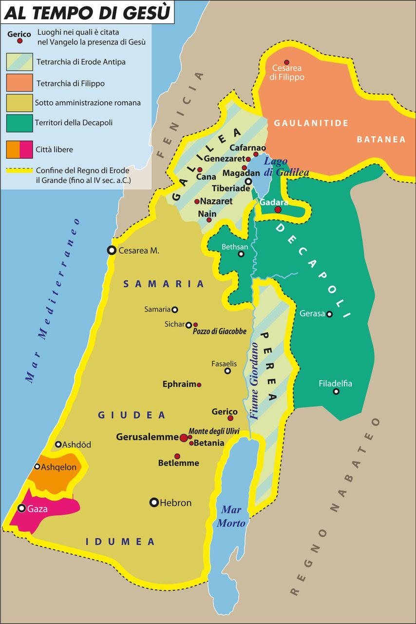 Cartina Fisica Dell Israele.I Confini D Israele Secondo La Bibbia Limes