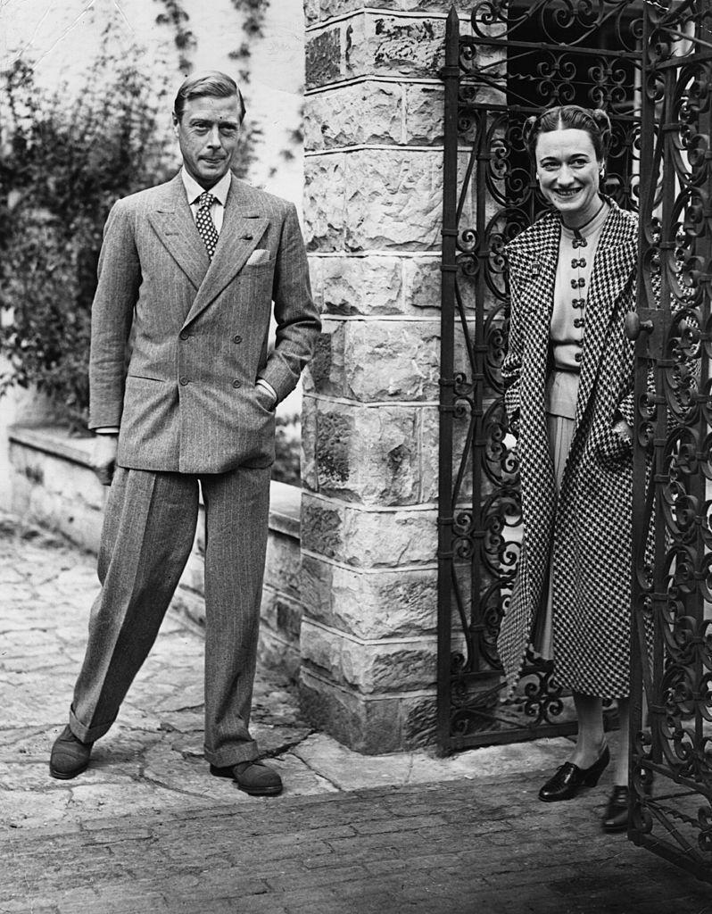 Edoardo VIII, qui duca di Windsor e la duchessa Wallis Simpson, settembre 1939 (Foto da: Keystone/Getty Images)