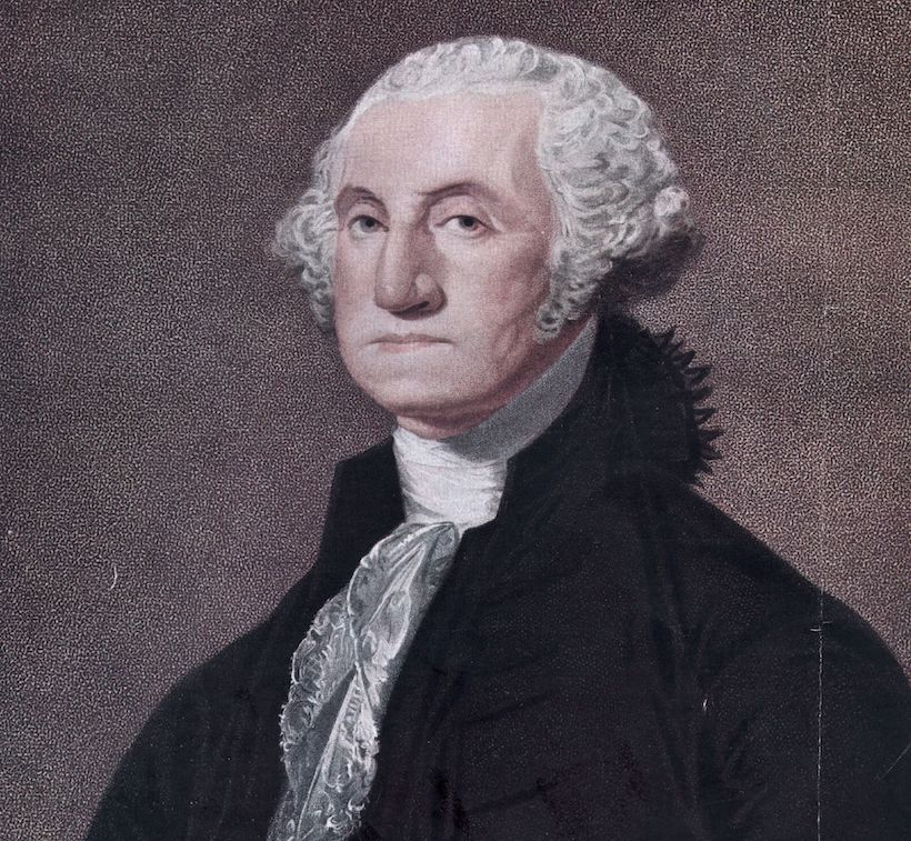 George Washington, 1790 circa. (Immagine: Hulton Archive/Getty Images).