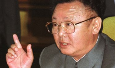 Il leader ereditario nordcoreano Kim Jong-il (1941-2011) padre dell'attuale leader Kim Jong-un. (Photo by Newsmakers via GettyImages).