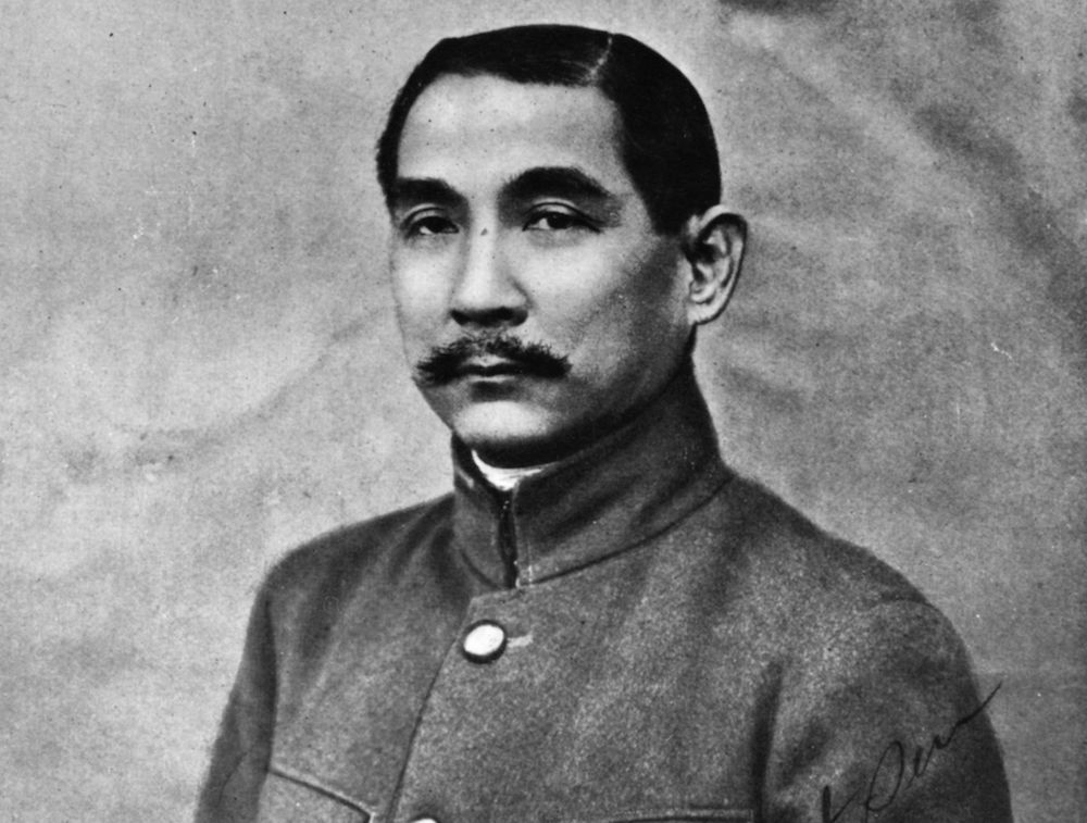 Sun Yat-sen, foto di Hulton Archive/Getty Images.