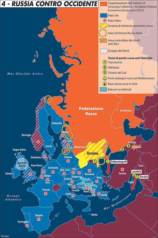 Russia contro occidente