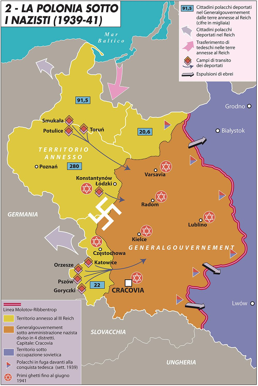 Polonia sotto i nazisti