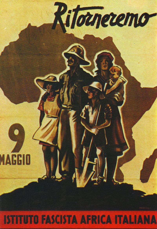 Ritorneremo, Manifesto di Corrado Mancioli, 1943
