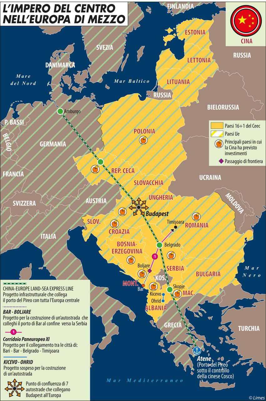 L'EUROPA DEL CENTRO NELL'EUROPA DI MEZZO