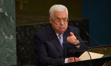 Abu mazen all'Assemblea delle Nazioni Unite il 20 settembre 2017 (Foto:  Kevin Hagen/Getty Images).