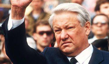 Boris Eltsin, presidente russo dal 1991 al 1999 (Foto: ANDRE DURAND/AFP/Getty Images).