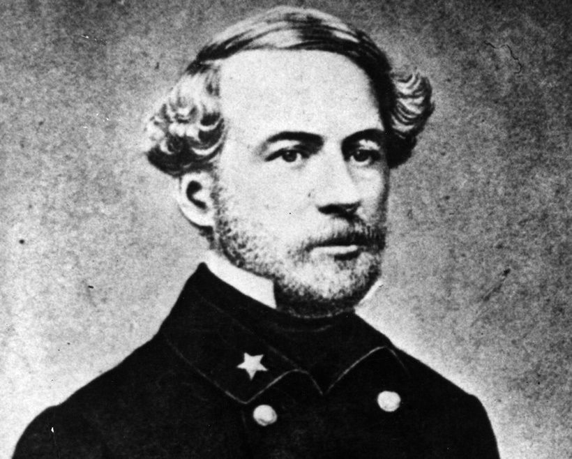 circa 1845: Robert Edward Lee (1807 - 1870) American General and leader of the Confederate forces in the American Civil War. (Photo by Hulton Archive/Getty Images)