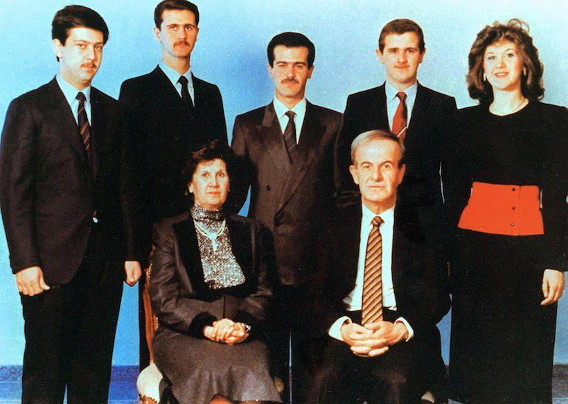 [La famiglia Al-Asad, immagine tratta dal Financial Times]