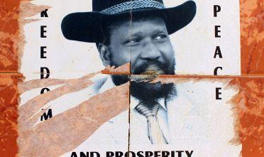 Un poster di Salva Kiir, presidente del Sud Sudan. Foto di: Spencer Platt/Getty Images