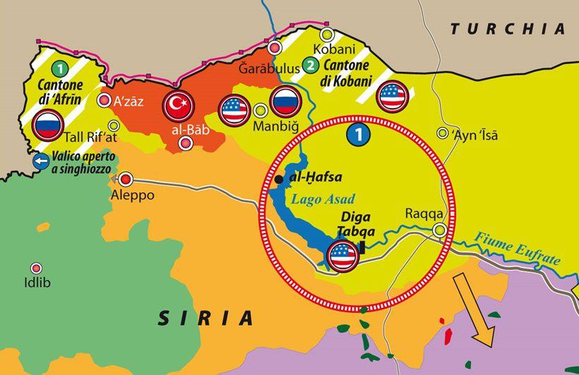 Rojava al centro