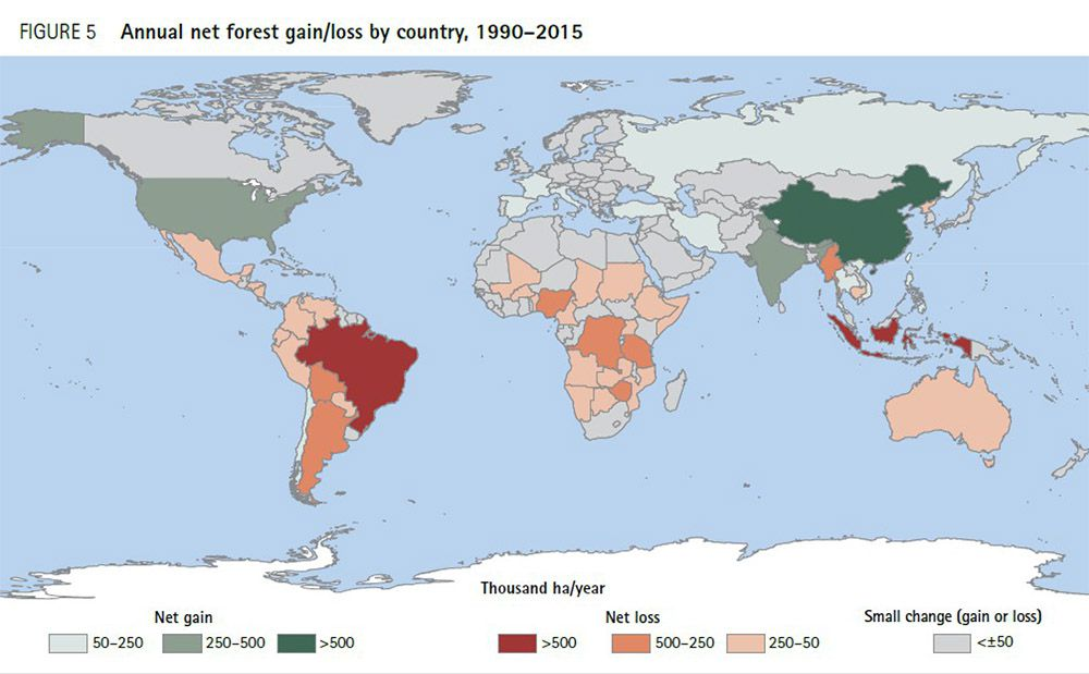 Fonte: Fao, http://www.fao.org/forest-resources-assessment/current-assessment/maps-and-figures/en/