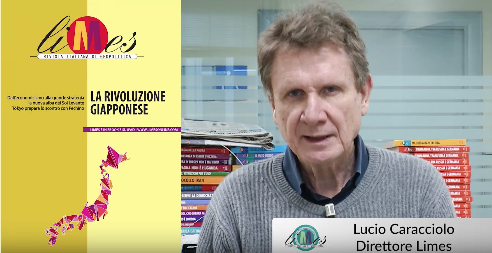 Videoeditoriale Limes Giappone