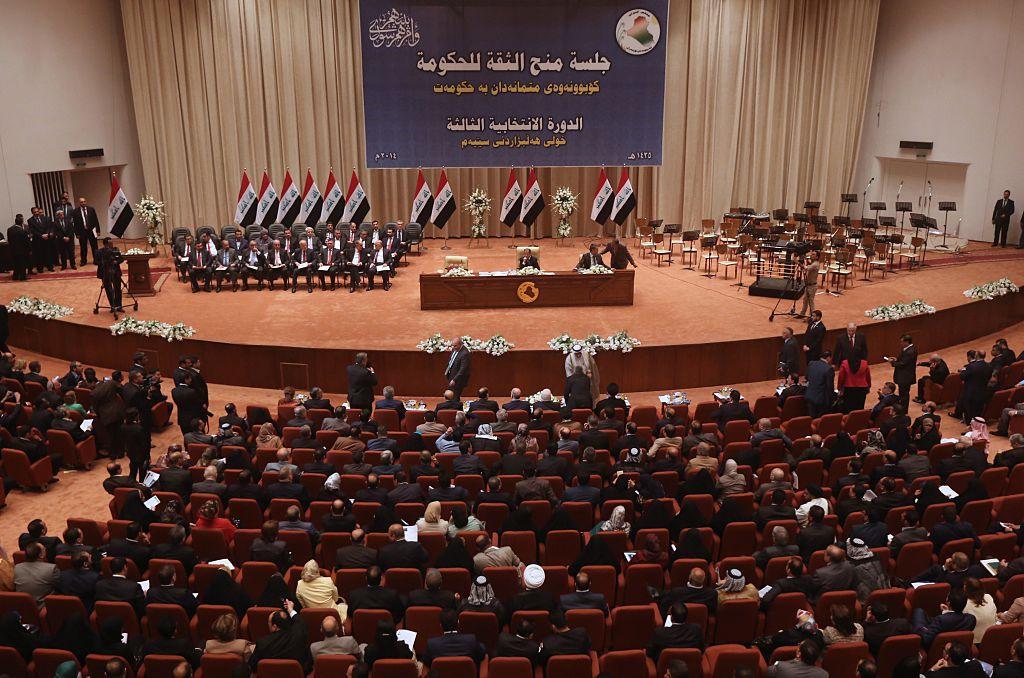 Una seduta del parlamento iracheno, settembre 2014. Foto di: AHMAD AL-RUBAYE/AFP/Getty Images