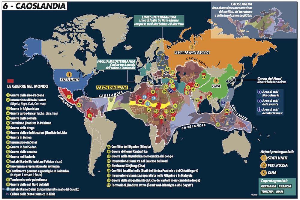 caoslandia le guerre nel mondo limes