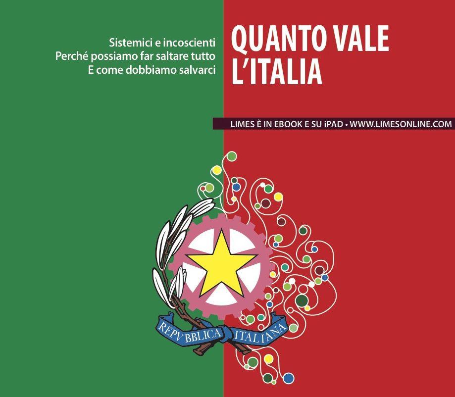 Quanto vale l 39 italia il nuovo numero di limes limes for Numero di politici in italia