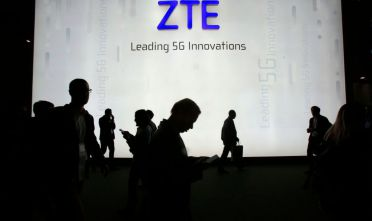 BARCELONA, SPAIN - FEBRUARY 27:  ZTE stand during the Mobile World Congress (MWC), the world's biggest mobile fair, on February 27, 2018 in Barcelona. The Mobile World Congress is held in Barcelona from February 26 to March 1.(Photo by Miquel Benitez/Getty Images)