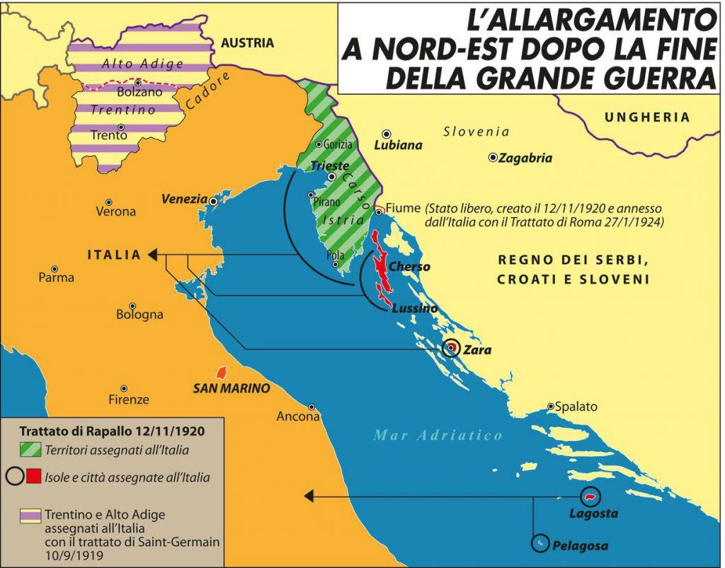 allargamento_italia_nord_est_dopo_fine_grande_guerra
