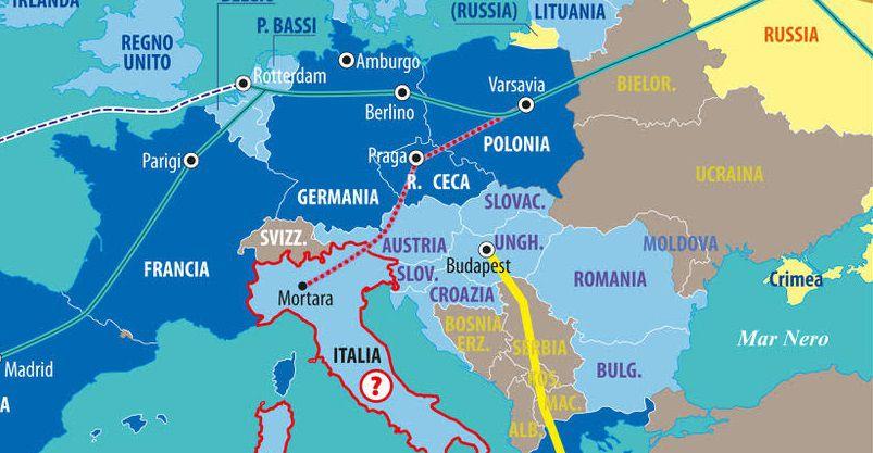 Dettaglio Italia vie della seta
