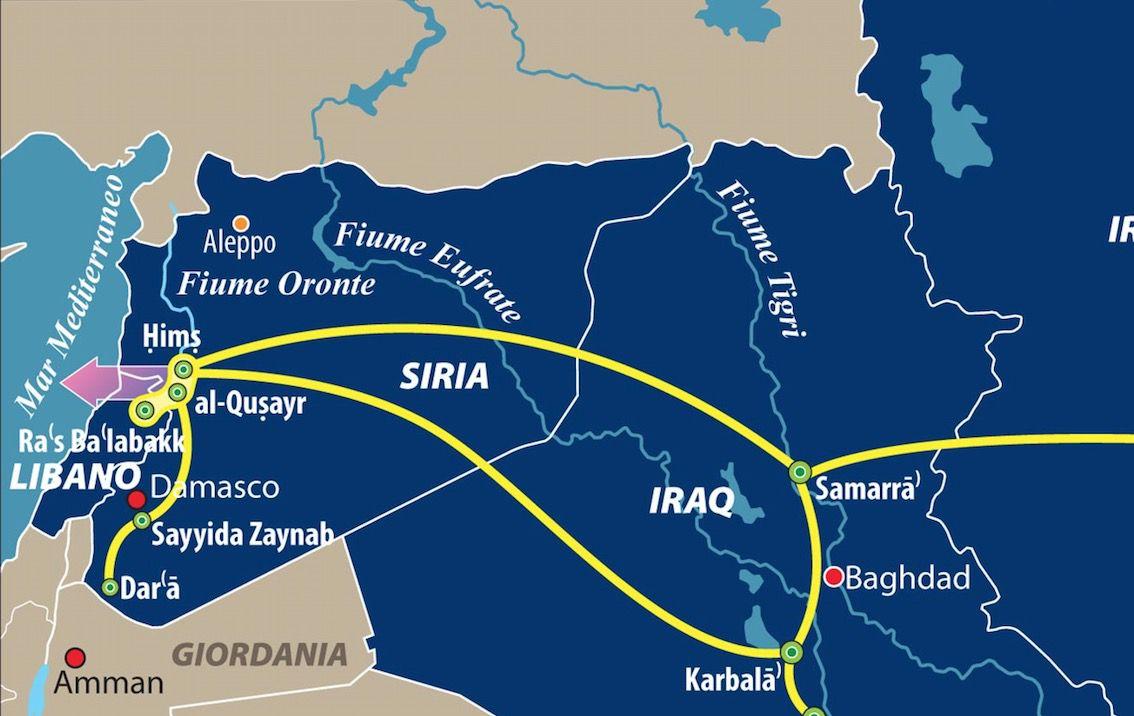 Dettaglio il mondo di Hezbollah