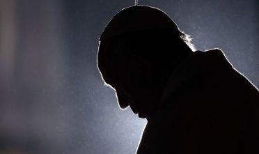 Papa Francesco al Colosseo durante la Via Crucis, 30 marzo 2018 (Foto: Franco Origlia/Getty Images).