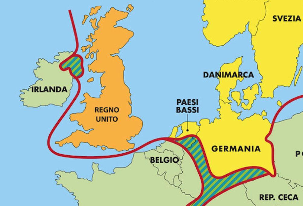 Dettaglio frontiere europa cristiana