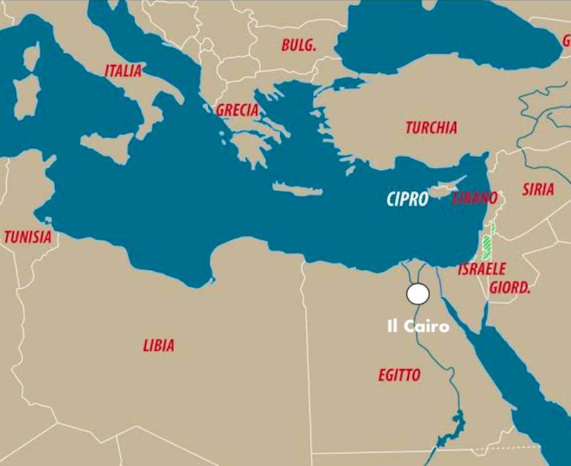Cartina Egitto In Italiano.Di Maio Alla Corte Di Al Sisi Limes