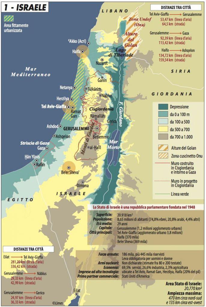 Stato Di Israele Cartina 2019.Israele La Dimensione Identitaria Delle Elezioni Limes