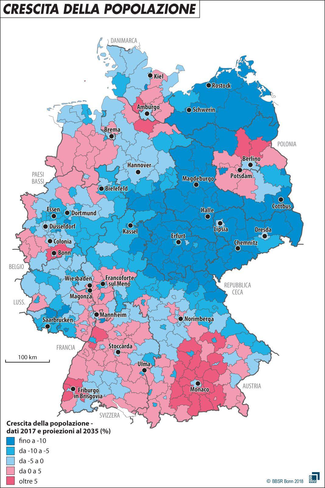 Germania Est Cartina.L Est Sara Sempre Piu Est Limes