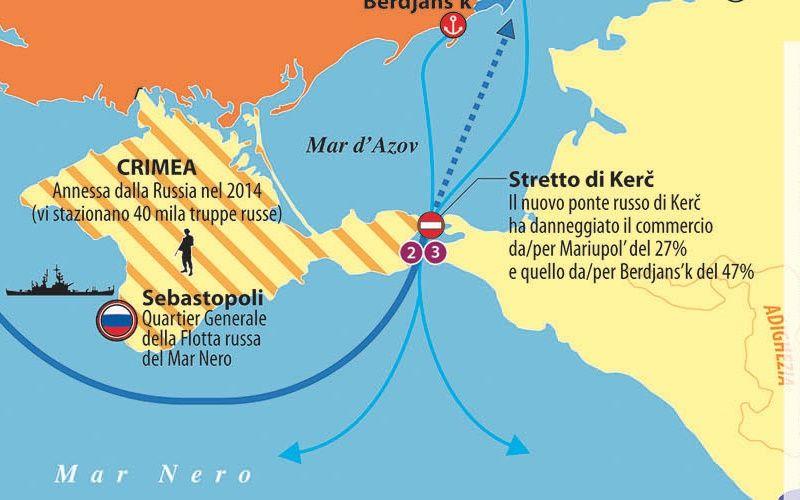 guerra intorno mar azov dettaglio