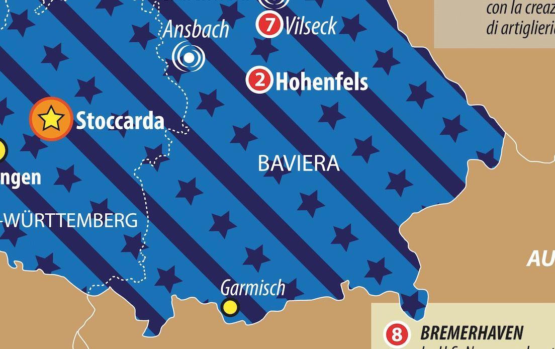Dettaglio basi Usa Germania