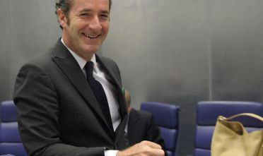 Il governatore del Veneto Luca Zaia nel 2009, quando presiedeva il ministero dell'Agricoltura (Photo credit should read JEAN-CHRISTOPHE VERHAEGEN/AFP/Getty Images).