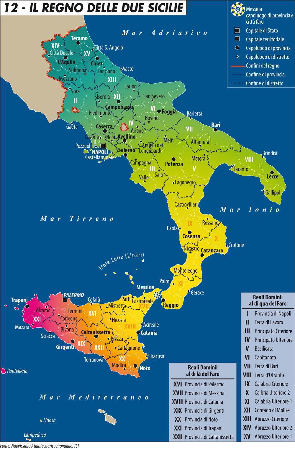 Cartina Politica Del Sud Italia.Perche All Italia Serve Il Sud Limes