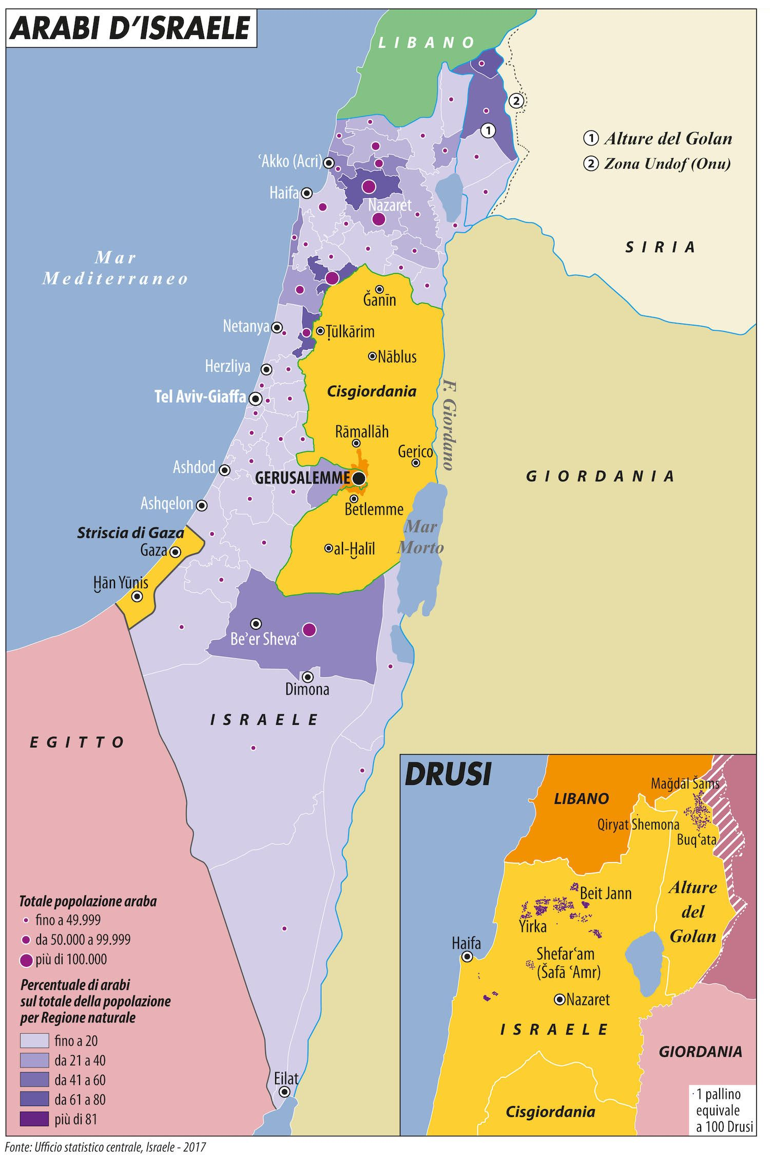 Cartina Israele E Palestina Oggi.Notizie Dal Medio Oriente Israele Gaza Libano Limes