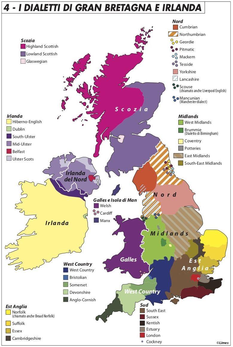 Cartina Geografica Irlanda Del Sud.Il Confine Irlandese E Il Cuore Del Brexit Limes